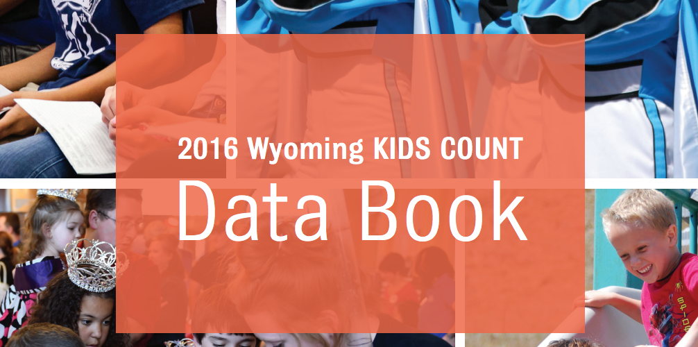 Screenshot of the Wyoming KIDS COUNT Data website