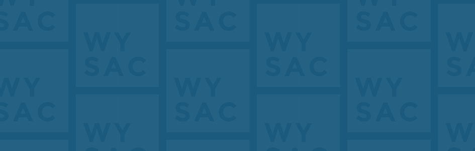 Graphic banner with Wyoming Survey & Analysis Center Logo