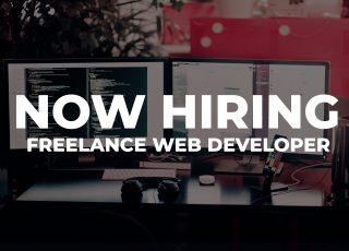 Now Hiring: Freelance Web Developer